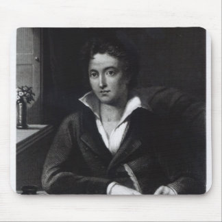 Percy Bysshe Shelley, engraved by William Holl Mouse Pad