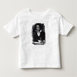 Percy Bysshe Shelley, engraved by William Holl Toddler T-shirt