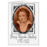 Percy Bysshe Shelley Felicitacion