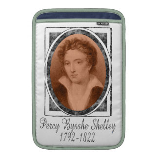 Percy Bysshe Shelley MacBook Sleeve
