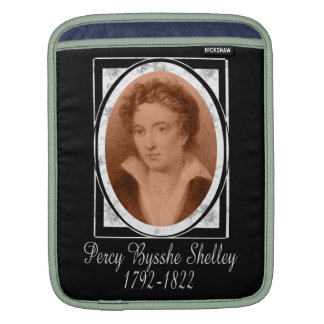 Percy Bysshe Shelley iPad Sleeves