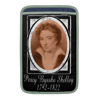 Percy Bysshe Shelley MacBook Sleeves