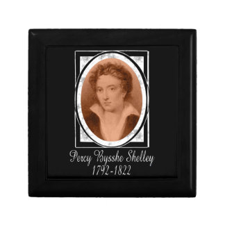 Percy Bysshe Shelley Jewelry Box