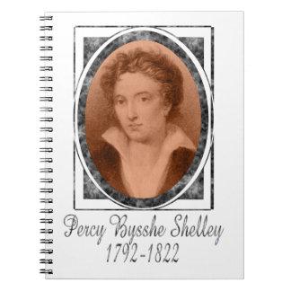 Percy Bysshe Shelley Libro De Apuntes Con Espiral