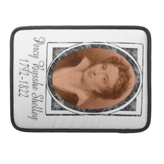 Percy Bysshe Shelley MacBook Pro Sleeves
