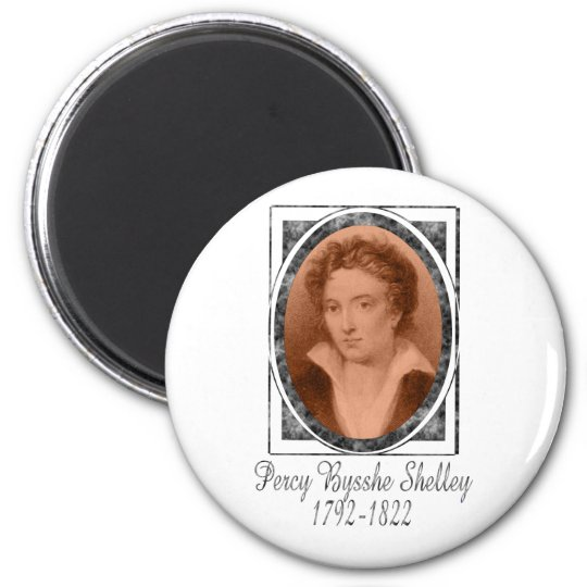 Percy Bysshe Shelley Magnet