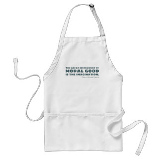 Percy Bysshe Shelley | Moral Good, Imagination Adult Apron