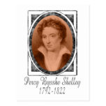 Percy Bysshe Shelley Tarjeta Postal