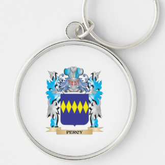Percy Coat of Arms - Family Crest Keychain