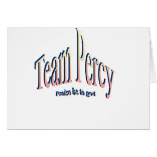 percy greeting card