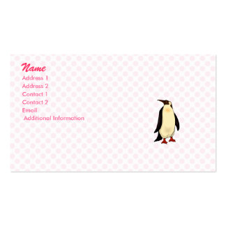 Percy Penguin Business Card