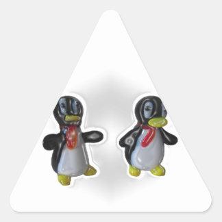 Percy & Pete Triangle Sticker