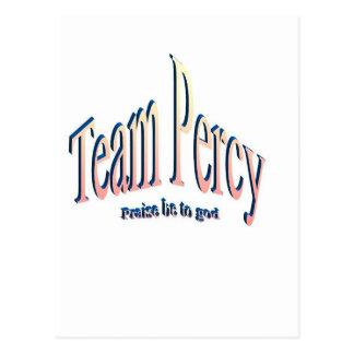 percy postcard