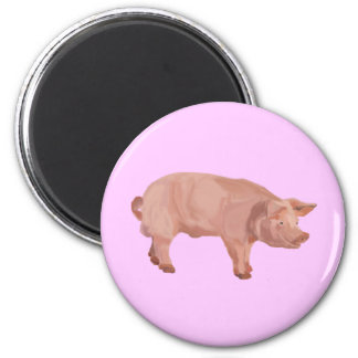 Percy the Pig Fridge Magnet