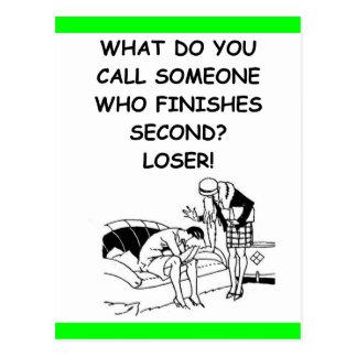 perdedor postales