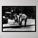 Perder la prohibición 1923 del whisky posters
