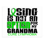 Perder no a la abuela del linfoma de la opción postal