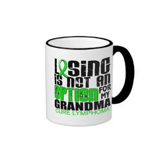 Perder no a la abuela del linfoma de la opción taza de dos colores