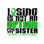 Perder no a la hermana del linfoma de la opción postal