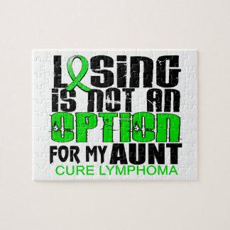 Perder no a la tía del linfoma de la opción puzzles con fotos
