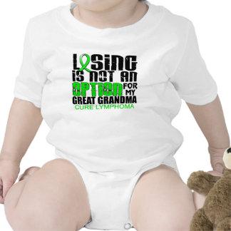 Perder no abuela del linfoma de la opción a la gra camisetas