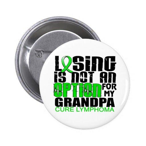Perder no al abuelo del linfoma de la opción pins