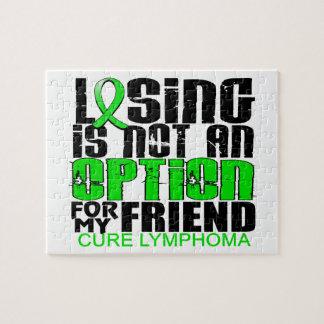Perder no al amigo del linfoma de la opción puzzle con fotos