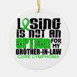 Perder no al cuñado del linfoma de la opción adorno para reyes