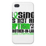 Perder no al cuñado del linfoma de la opción iPhone 4 fundas