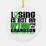 Perder no al nieto del linfoma de la opción ornamento de navidad