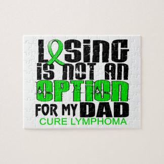 Perder no al papá del linfoma de la opción rompecabeza con fotos