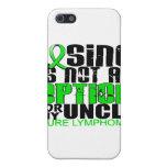 Perder no al tío del linfoma de la opción iPhone 5 fundas