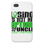 Perder no al tío del linfoma de la opción iPhone 4/4S carcasa