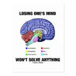 Perder su mente no solucionará cualquier cosa (el  tarjetas postales