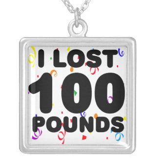 Perdí 100 libras de collar del fiesta
