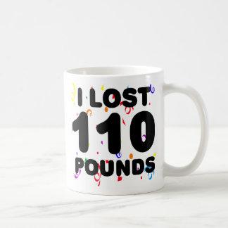 Perdí 110 libras de fiesta tazas