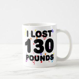 Perdí 130 libras de fiesta tazas