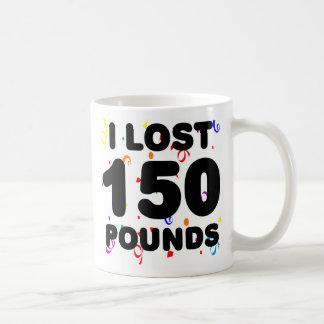 Perdí 150 libras de fiesta taza de café