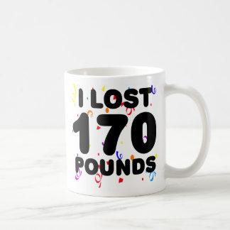 Perdí 170 libras de fiesta tazas de café