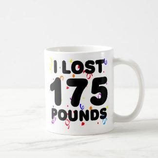 Perdí 175 libras de fiesta taza de café