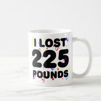 Perdí 225 libras de fiesta taza de café