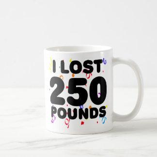Perdí 250 libras de fiesta tazas