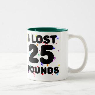 Perdí 25 libras de fiesta tazas
