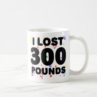Perdí 300 libras de fiesta tazas de café