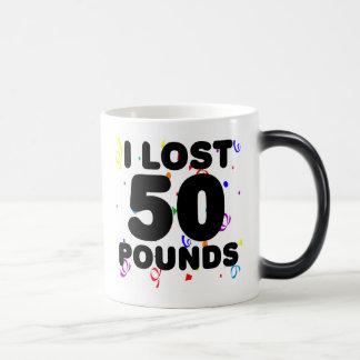 Perdí 50 libras de fiesta tazas de café