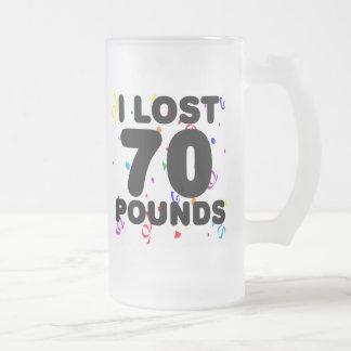 Perdí 70 libras de fiesta taza de café