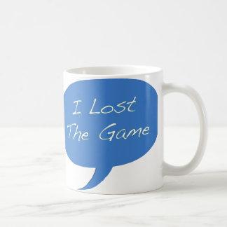 Perdí el juego taza clásica