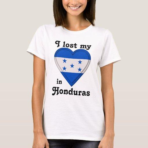 Perdí mi corazón en Honduras Playera