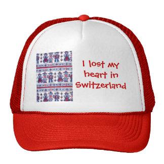 Perdí mi corazón en Suiza Gorros