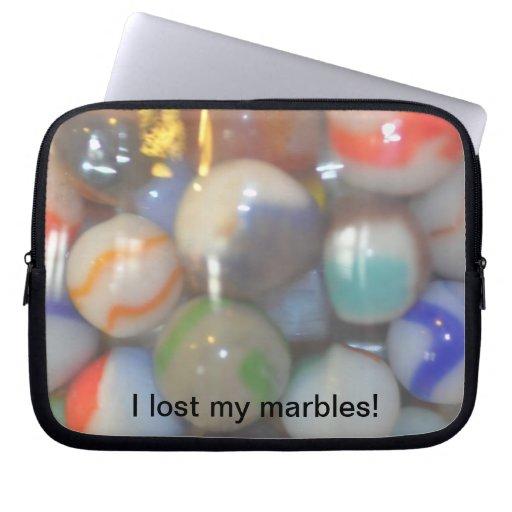 Perdí mi manga del ordenador portátil de los mármo funda ordendadores